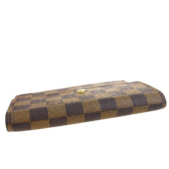 Louis Vuitton Authentic LOUIS VUITTON Porte Tresor Etui Papiers Trifold Wallet Purse Image 3