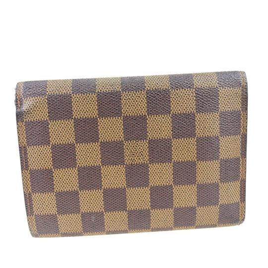 Louis Vuitton Authentic LOUIS VUITTON Porte Tresor Etui Papiers Trifold Wallet Purse Image 5