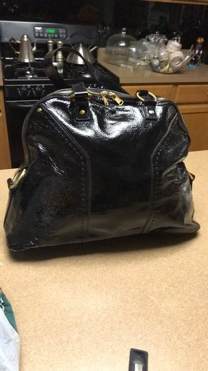 Saint Laurent Satchel in black Image 3