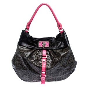 Marc by Marc Jacobs Signature Leather Hobo Bag