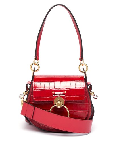 Preload https://img-static.tradesy.com/item/26471705/chloe-new-small-red-leather-cross-body-bag-0-0-540-540.jpg