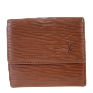 Louis Vuitton Authentic LOUIS VUITTON Porte Monnaie Billets Cult Credit Wallet Purse