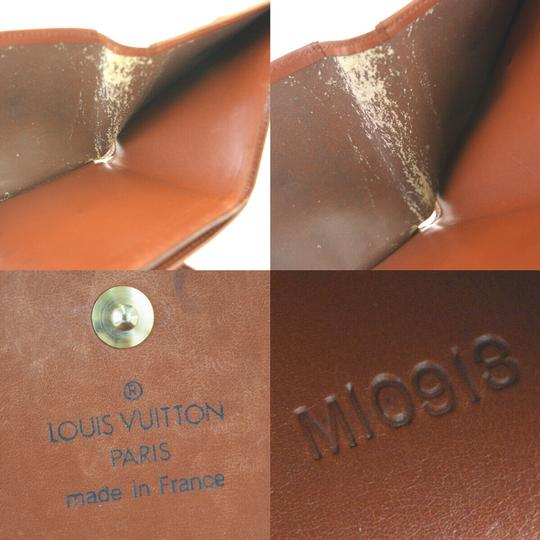 Louis Vuitton Authentic LOUIS VUITTON Porte Monnaie Billets Cult Credit Wallet Purse Image 9