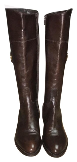 Attilio Giusti Leombruni Brown Agl Knee High Riding Boots/Booties Size EU 38 (Approx. US 8) Regular (M, B) Attilio Giusti Leombruni Brown Agl Knee High Riding Boots/Booties Size EU 38 (Approx. US 8) Regular (M, B) Image 1