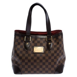Louis Vuitton Signature Canvas Tote in Brown