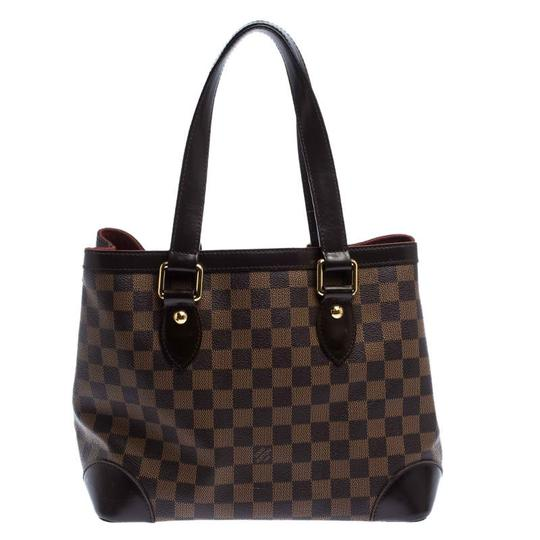 Louis Vuitton Signature Canvas Tote in Brown Image 1