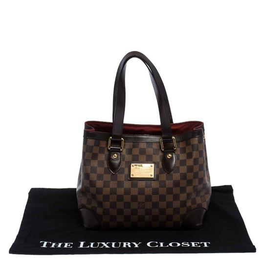 Louis Vuitton Signature Canvas Tote in Brown Image 10
