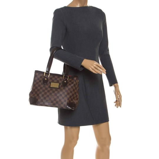 Louis Vuitton Signature Canvas Tote in Brown Image 2