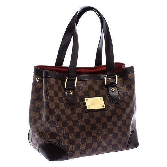 Louis Vuitton Signature Canvas Tote in Brown Image 3