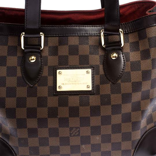 Louis Vuitton Signature Canvas Tote in Brown Image 5