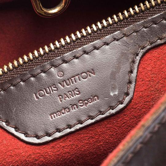 Louis Vuitton Signature Canvas Tote in Brown Image 7