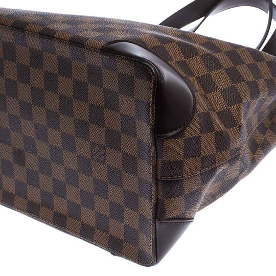 Louis Vuitton Signature Canvas Tote in Brown Image 9