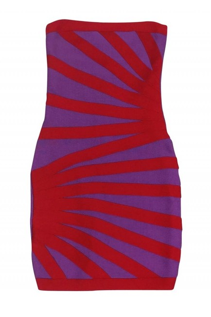 Preload https://img-static.tradesy.com/item/26471743/herve-leger-red-short-casual-dress-size-4-s-0-0-650-650.jpg