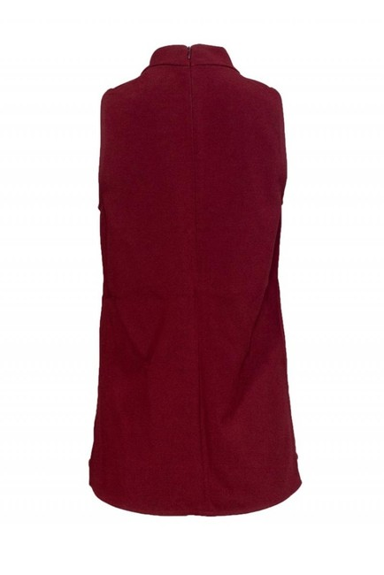 Theory Camis Tank Tops Burgundy Top Image 2