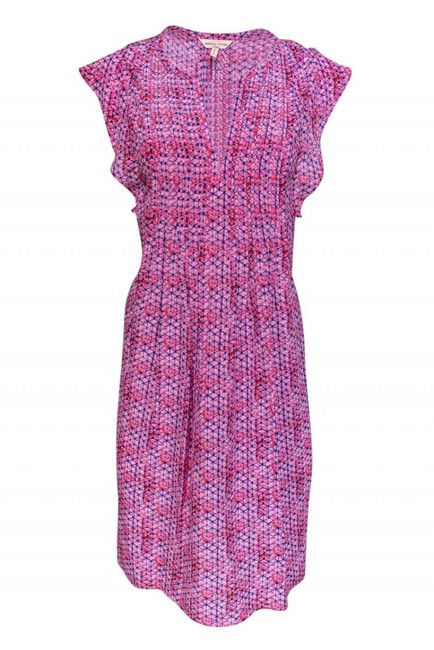 Preload https://img-static.tradesy.com/item/26471762/rebecca-taylor-pink-short-casual-dress-size-6-s-0-0-650-650.jpg