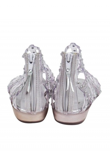 Stuart Weitzman Clear Jelly Gladiator Sandals Image 3