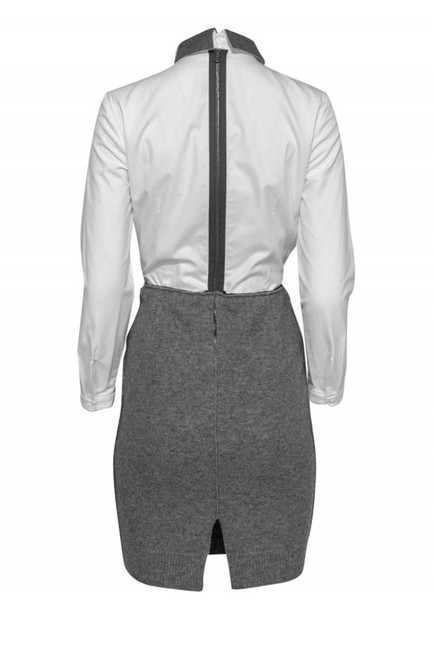 Carven Formal Dresses Gray Sweater Image 2