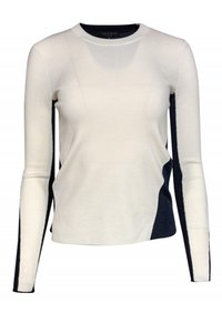 Rag & Bone Navy Ivory Merino Sweater