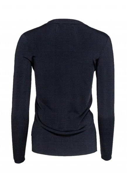 Rag & Bone Navy Ivory Merino Sweater Image 2