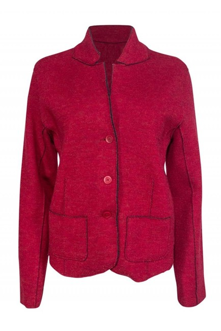 Preload https://img-static.tradesy.com/item/26471858/eileen-fisher-red-button-down-top-size-12-l-0-0-650-650.jpg