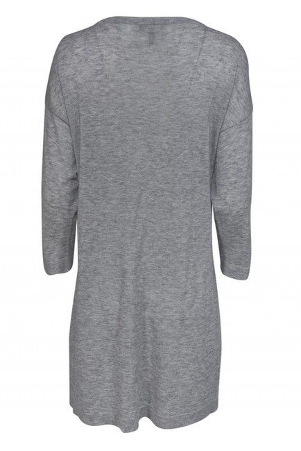 Eileen Fisher Grey Merino Wool Sweater Image 2