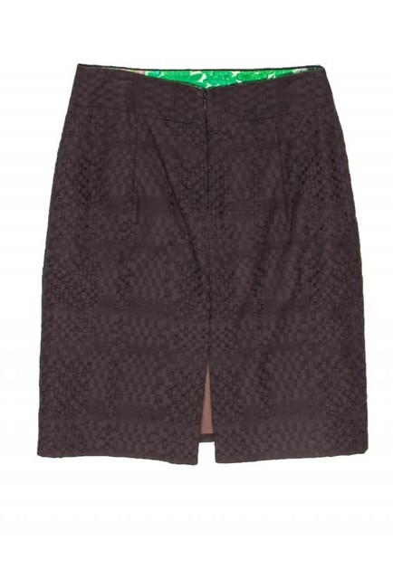 Milly Woven Texture Skirt brown Image 1