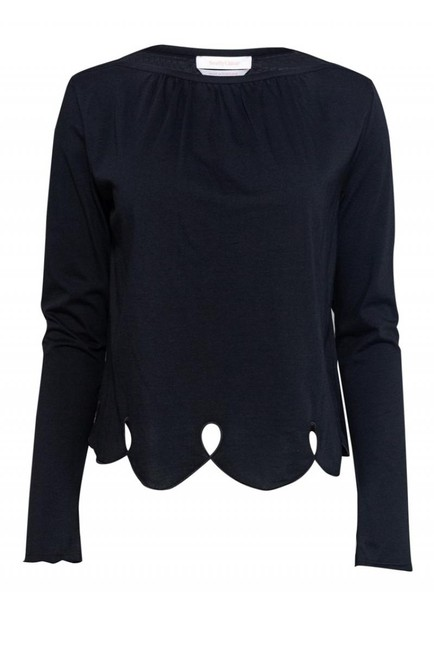 See by Chloé Black Activewear Top Size 4 (S) See by Chloé Black Activewear Top Size 4 (S) Image 1