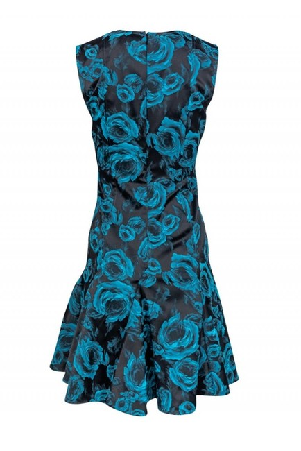 Twilley Atelier Teal Dress Image 2