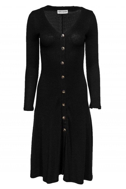Current Boutique short dress black Day Ribbed It Again on Tradesy Image 0