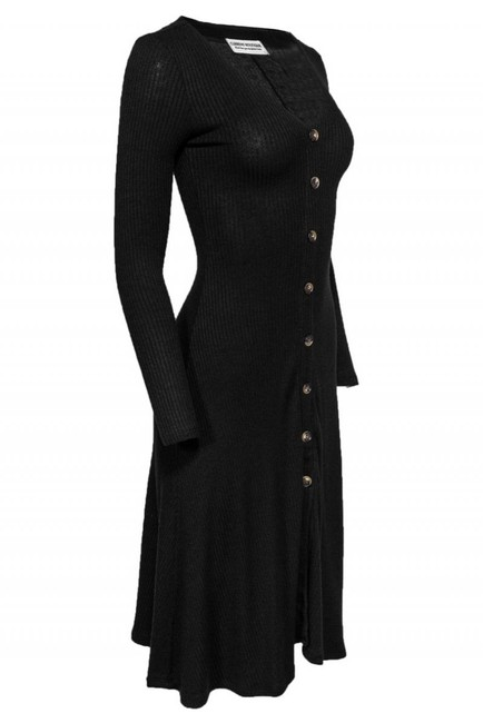 Current Boutique short dress black Day Ribbed It Again on Tradesy Image 1