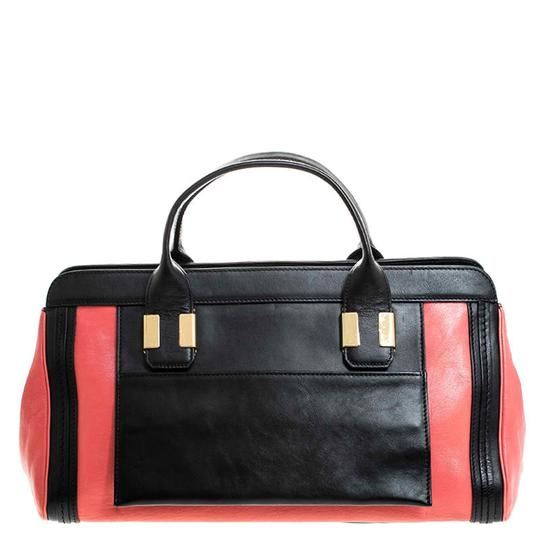 Chloé Leather Satchel in Red Image 1