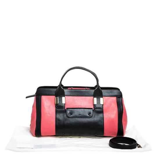 Chloé Leather Satchel in Red Image 10