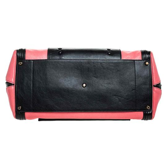 Chloé Leather Satchel in Red Image 4