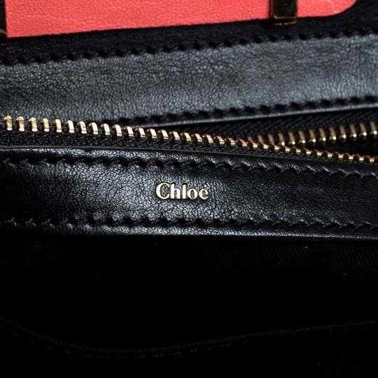 Chloé Leather Satchel in Red Image 7