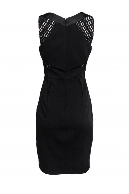 Karen Millen short dress black Little on Tradesy Image 2