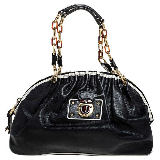 Marc Jacobs Leather Satchel in Black Image 0