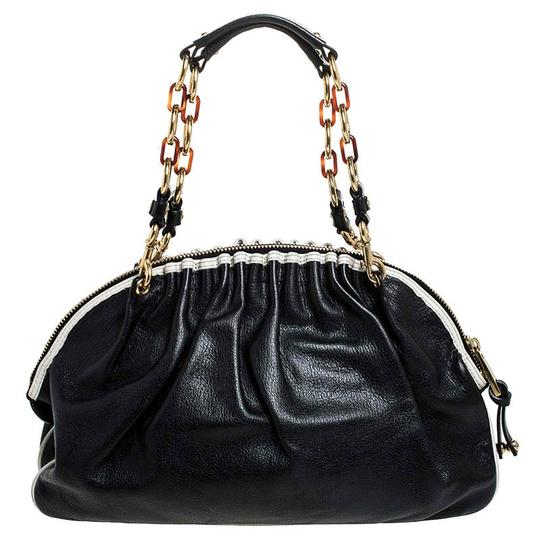 Marc Jacobs Leather Satchel in Black Image 1