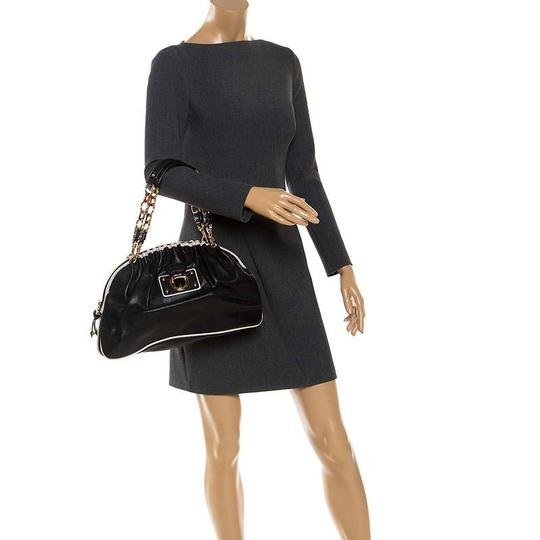 Marc Jacobs Leather Satchel in Black Image 2