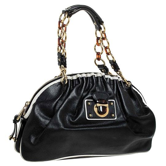 Marc Jacobs Leather Satchel in Black Image 3
