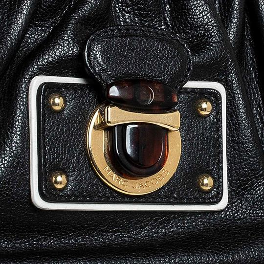 Marc Jacobs Leather Satchel in Black Image 7