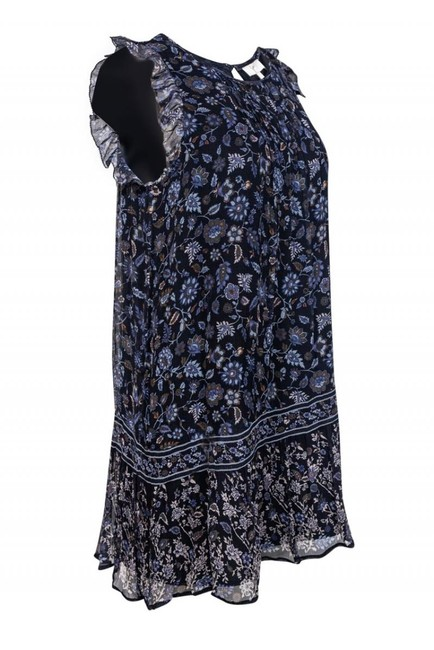 Joie short dress Day Navy Floral on Tradesy Image 1