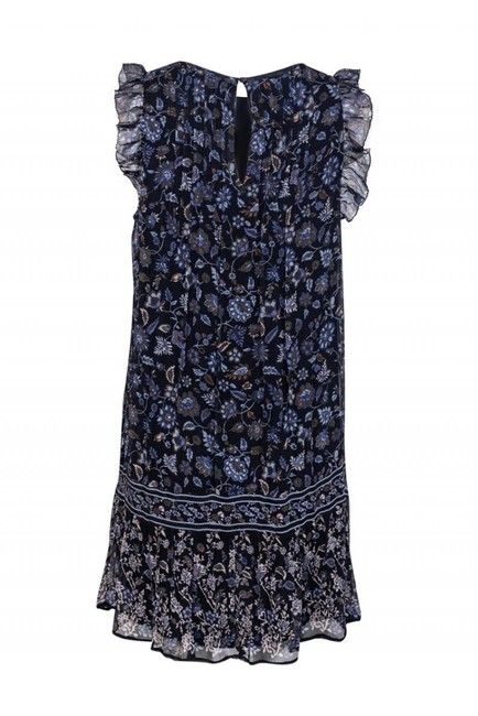 Joie short dress Day Navy Floral on Tradesy Image 2