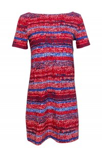 Tory Burch short dress red Day Blue on Tradesy
