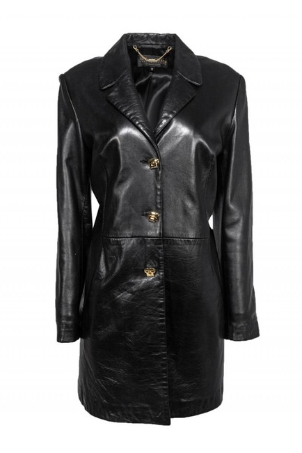 St. John Collection Leather Coat Image 0