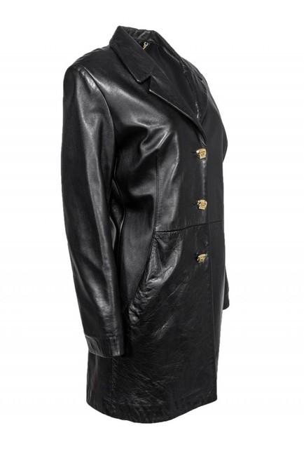 St. John Collection Leather Coat Image 1