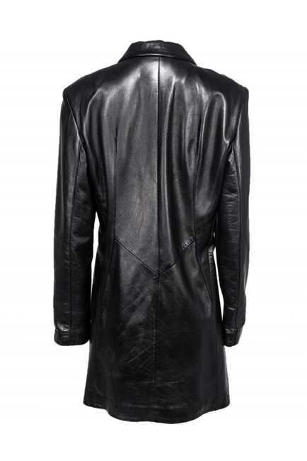 St. John Collection Leather Coat Image 2