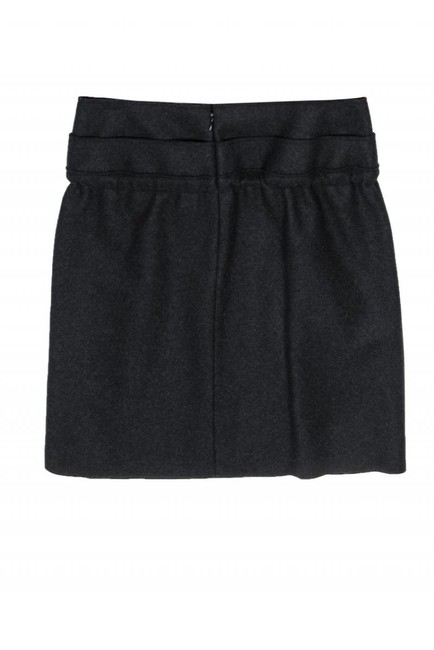 Marni Dark Gray Wool Skirt Image 1