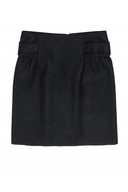 Marni Dark Gray Wool Skirt Image 2