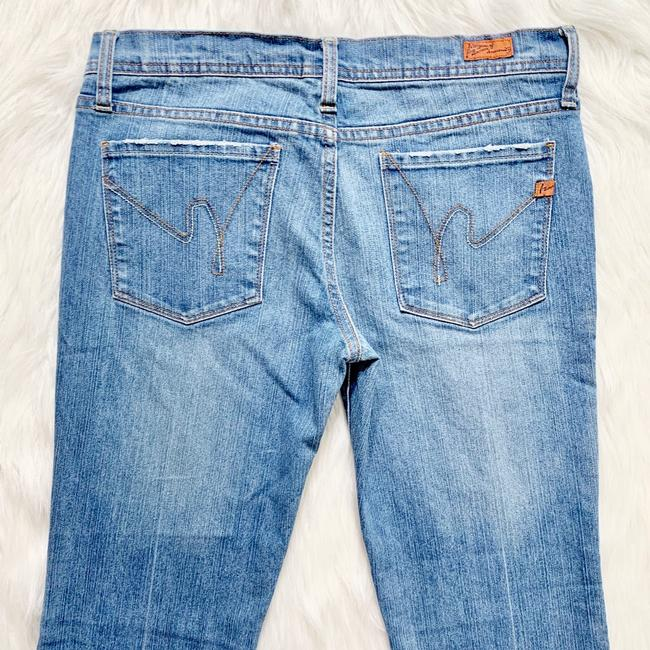 Citizens of Humanity Flare Leg Jeans-Light Wash Image 2