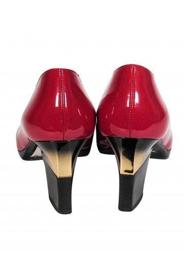 Fratelli Rossetti Basic Patent red Pumps Image 3